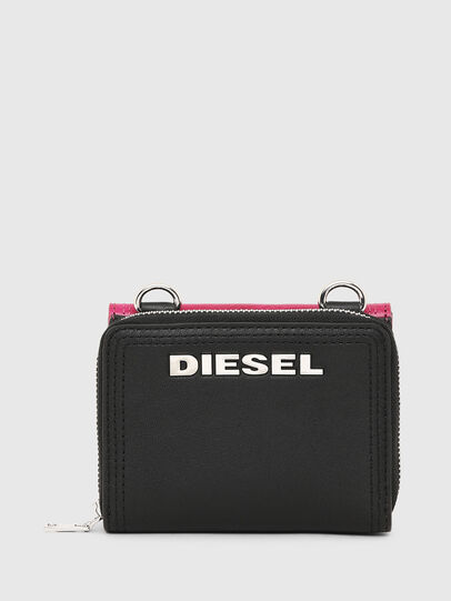 Diesel - LORY, Pink/Black - Small Wallets - Image 2