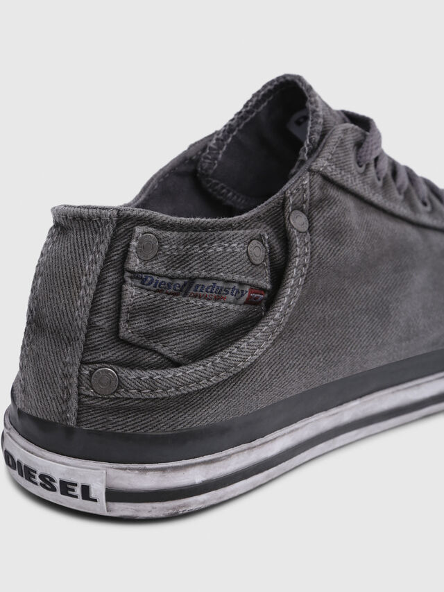 Diesel - EXPOSURE LOW I, Metal Grey - Sneakers - Image 4