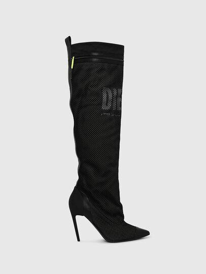 Diesel - D-SLANTY HOTK Z, Black - Boots - Image 1