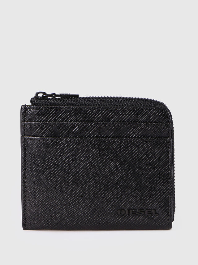 Diesel - PASS ME, Black - Continental Wallets - Image 1