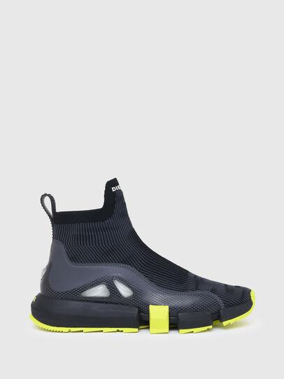 Diesel - H-PADOLA MID TREK, Black - Sneakers - Image 1