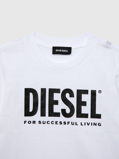 Diesel - TJUSTLOGOB ML-R, White - T-shirts and Tops - Image 3