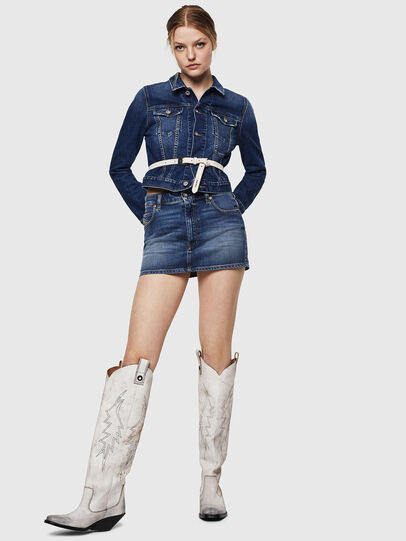 Diesel - DE-LIMMY, Blue Jeans - Denim Jackets - Image 5
