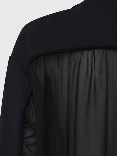 Diesel - F-BIEL, Black - Sweaters - Image 4