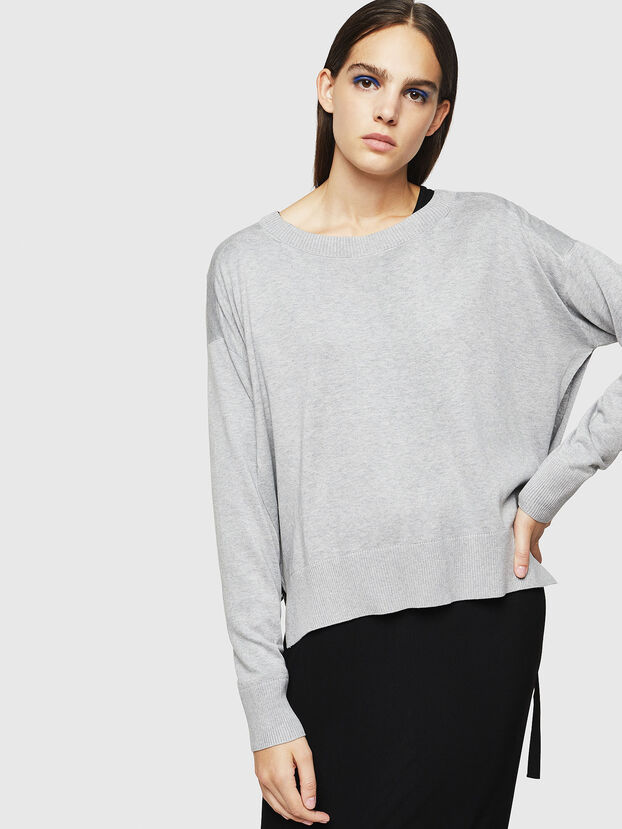 M-PERLA, Grey - Knitwear