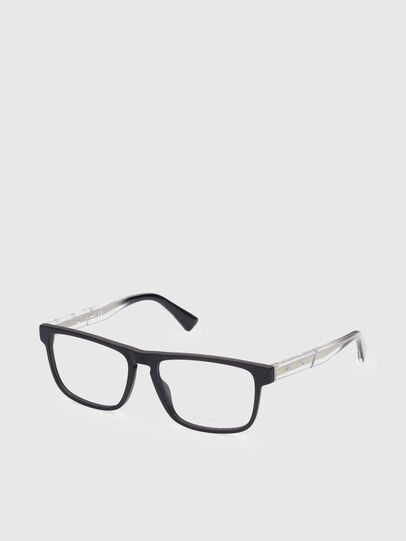 Diesel - DL5406, Black/White - Eyeglasses - Image 2