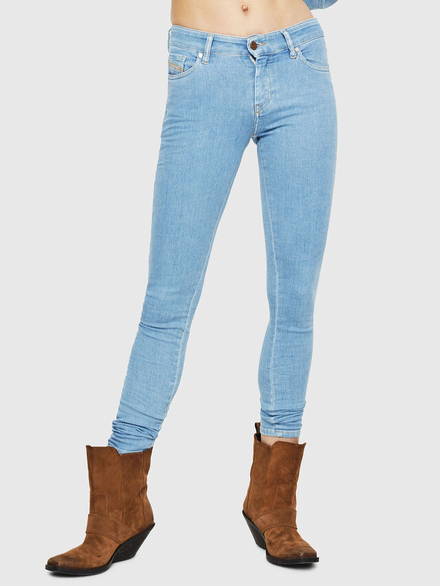 Diesel - Slandy 069FN, Light Blue - Jeans - Image 1