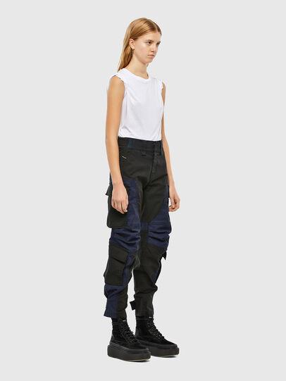 Diesel - D-Kiki JoggJeans® 009KM, Black/Dark grey - Jeans - Image 8
