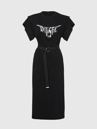 Diesel - D-FLIX-C, Black - Dresses - Image 1