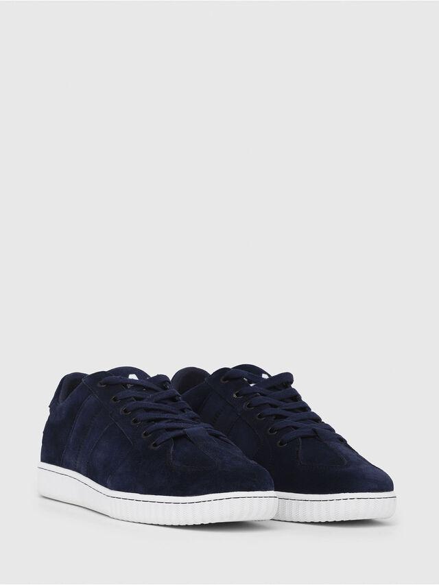 Diesel - S-MILLENIUM LC, Dark Blue - Sneakers - Image 2