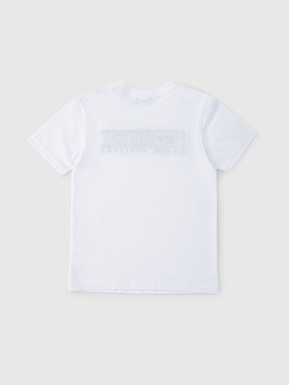 Diesel - TJUSTDIVISION, White - T-shirts and Tops - Image 2