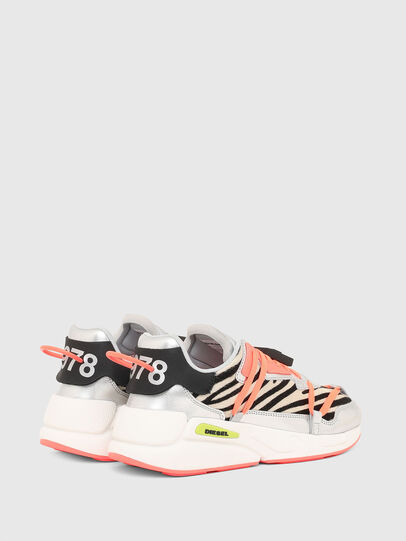 Diesel - S-SERENDIPITY LC EVO, White/Pink - Sneakers - Image 3