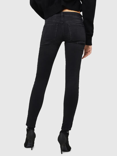 Diesel - Slandy Low 069GG, Black/Dark grey - Jeans - Image 2