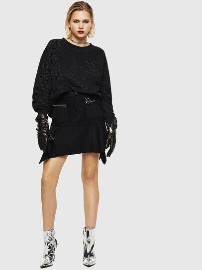 Diesel - F-MAGDA-D, Black - Sweaters - Image 6