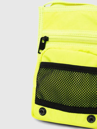 Diesel - ANKO, Yellow Fluo - Crossbody Bags - Image 5