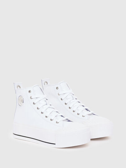 Diesel - S-ASTICO MC WEDGE, White - Sneakers - Image 2