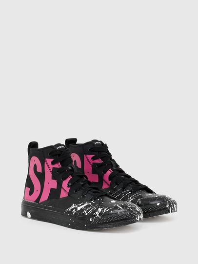 Diesel - S-ASTICO MC W, Black/Pink - Sneakers - Image 2