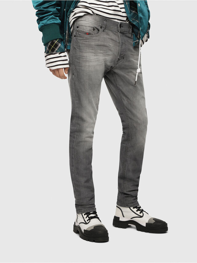 Diesel - Tepphar 084HP, Light Grey - Jeans - Image 1