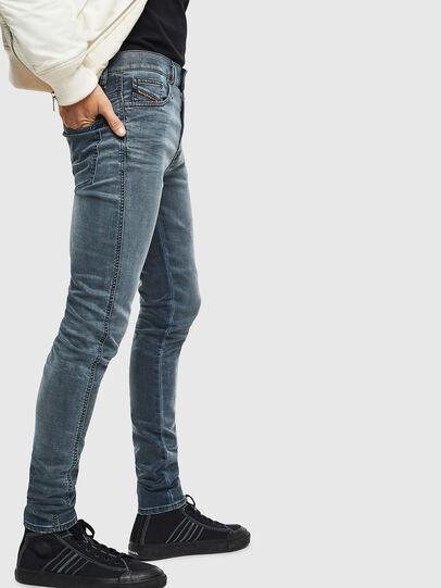 Diesel - D-Reeft JoggJeans 069LT, Dark Blue - Jeans - Image 4