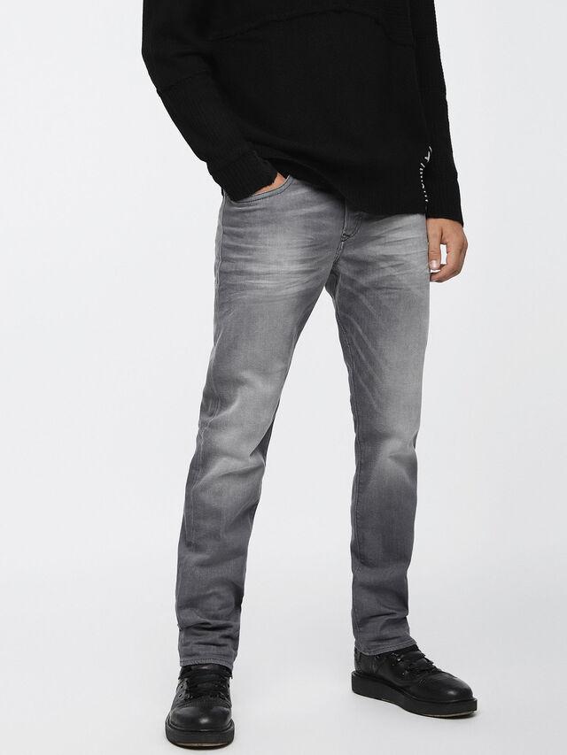 Diesel - Buster 084HP, Light Grey - Jeans - Image 1