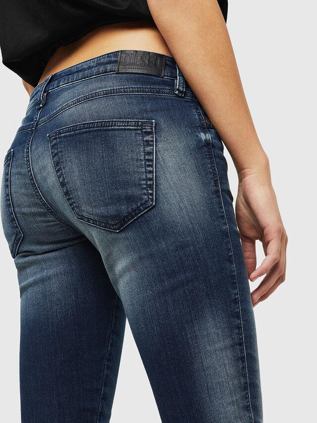 Diesel - Gracey JoggJeans 069HF, Dark Blue - Jeans - Image 3