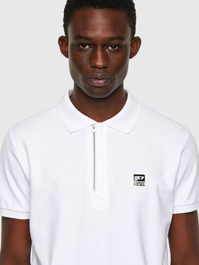 Diesel - T-HARRY, White - Polos - Image 3