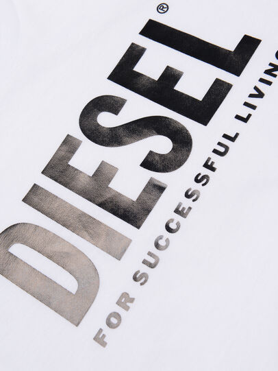 Diesel - TSILYWX, White - T-shirts and Tops - Image 3