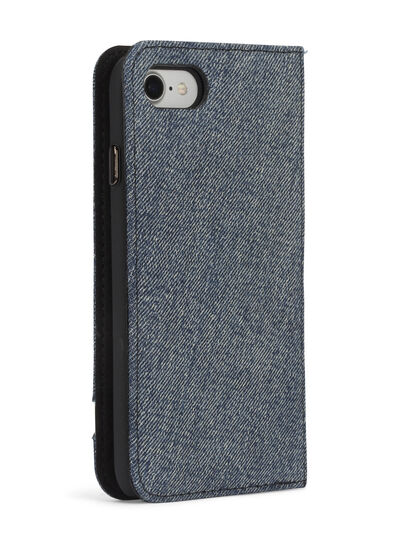 Diesel - DENIM IPHONE 8/7 FOLIO,  - Flip covers - Image 6