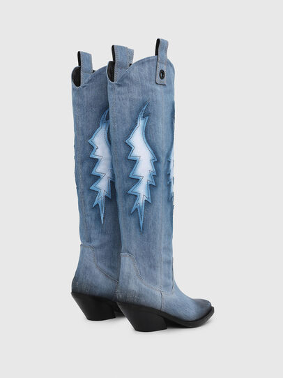 Diesel - D-GIUDECCA MHB, Blue Jeans - Boots - Image 3