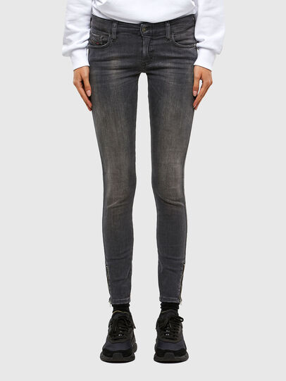Diesel - Slandy Low 069MY, Black/Dark grey - Jeans - Image 1