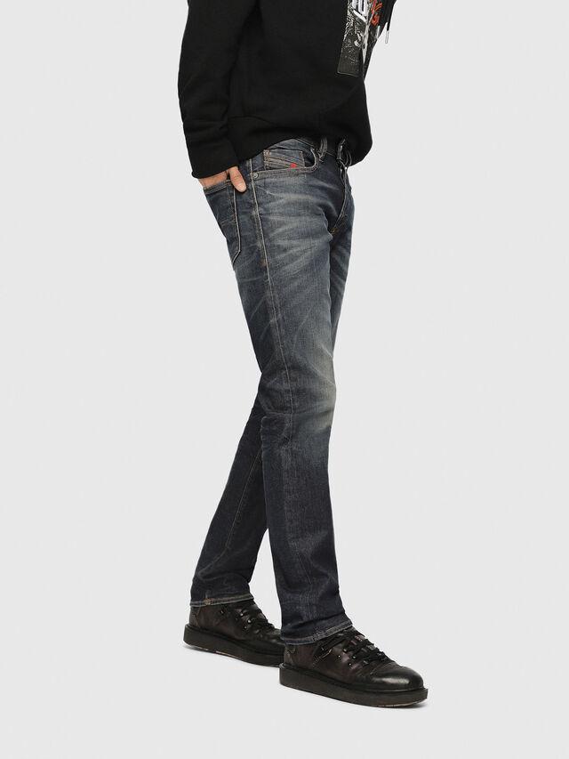 Diesel - Buster 084ZU, Dark Blue - Jeans - Image 3