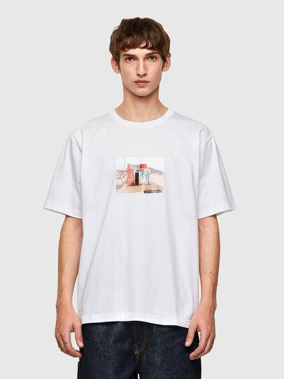 Diesel - T-TUBOLAR-B2, White - T-Shirts - Image 1