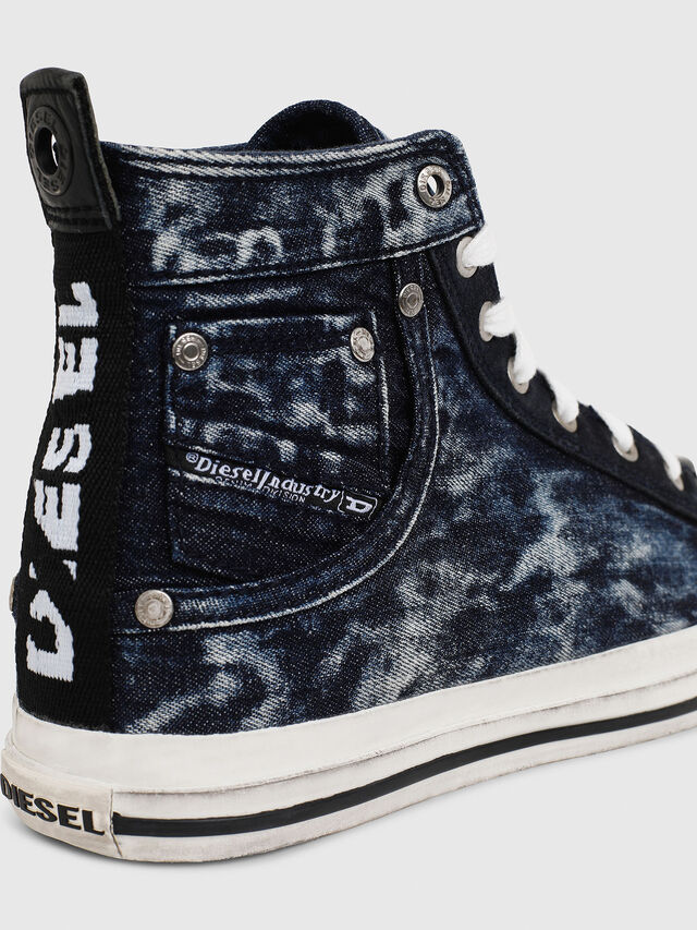 Diesel - EXPOSURE I, Dark Blue - Sneakers - Image 4
