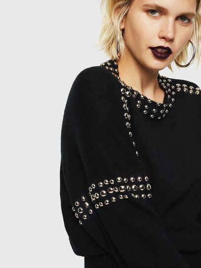 Diesel - M-KRIPX, Black - Knitwear - Image 5