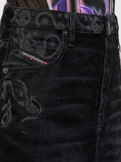Diesel - DE-FREESIA-SP, Black - Skirts - Image 3