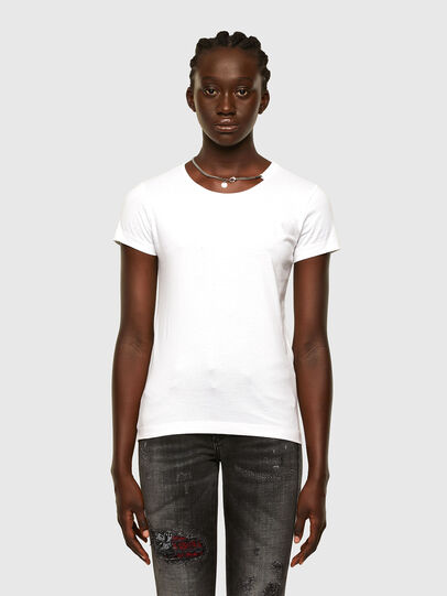 Diesel - T-CHAIN, White - T-Shirts - Image 1