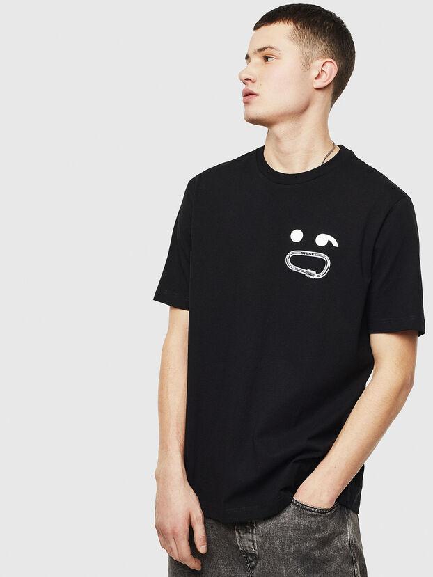 T-JUST-T14, Black - T-Shirts