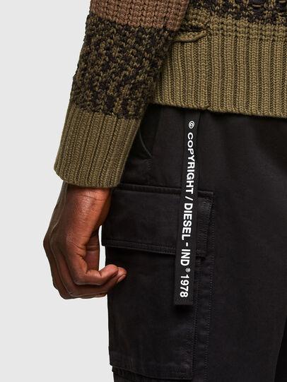 Diesel - K-COBALT, Military Green - Knitwear - Image 5