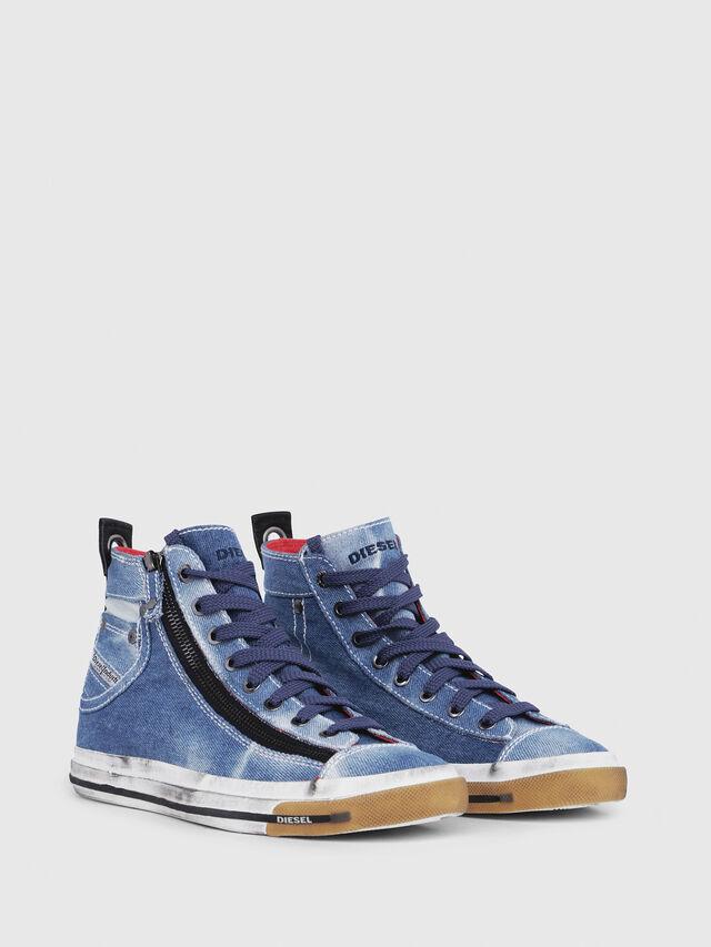 Diesel - EXPO-ZIP W, Blue Jeans - Sneakers - Image 2