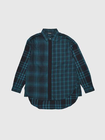 Diesel - CGARZ, Blue/Black - Shirts - Image 1