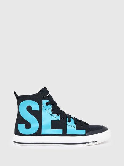 Diesel - S-ASTICO MID CUT, Black/Blue - Sneakers - Image 1
