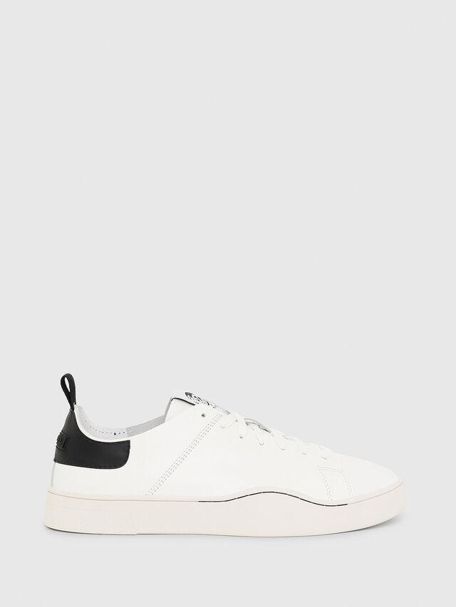 Diesel - S-CLEVER LS, White/Black - Sneakers - Image 1