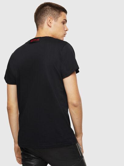 Diesel - LCP-T-DIEGO-ELPROFES, Black - T-Shirts - Image 3