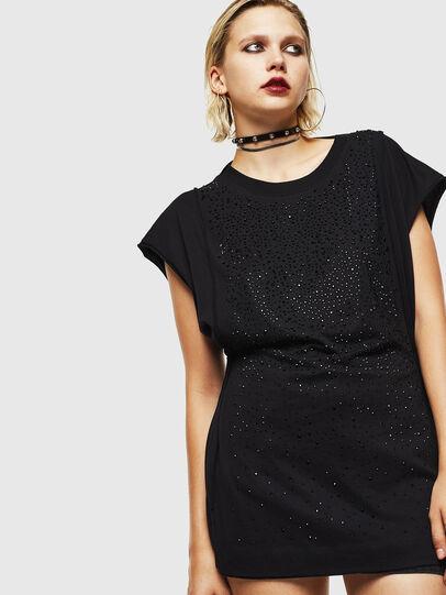 Diesel - T-KALY, Black - T-Shirts - Image 1