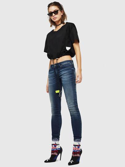 Diesel - Gracey JoggJeans 069HF, Dark Blue - Jeans - Image 5