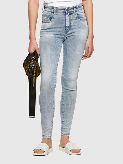 Diesel - Slandy High 009TG, Light Blue - Jeans - Image 1