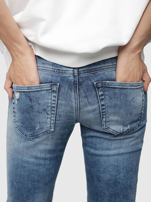 Diesel - Gracey JoggJeans 080AS, Medium blue - Jeans - Image 3
