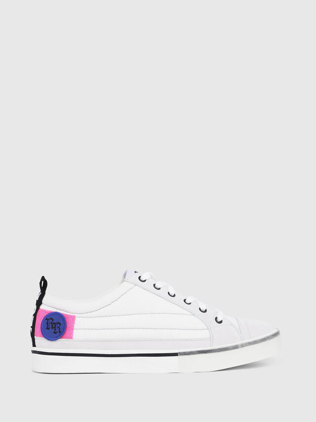 Diesel - D-VELOWS LOW PATCH W, White - Sneakers - Image 1