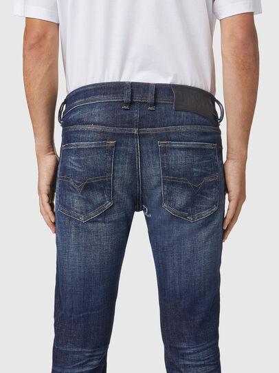 Diesel - Sleenker 09A85, Dark Blue - Jeans - Image 4