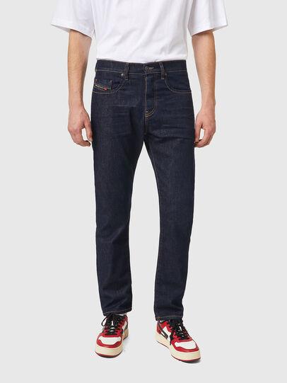 Diesel - D-Viker 084HN, Dark Blue - Jeans - Image 1